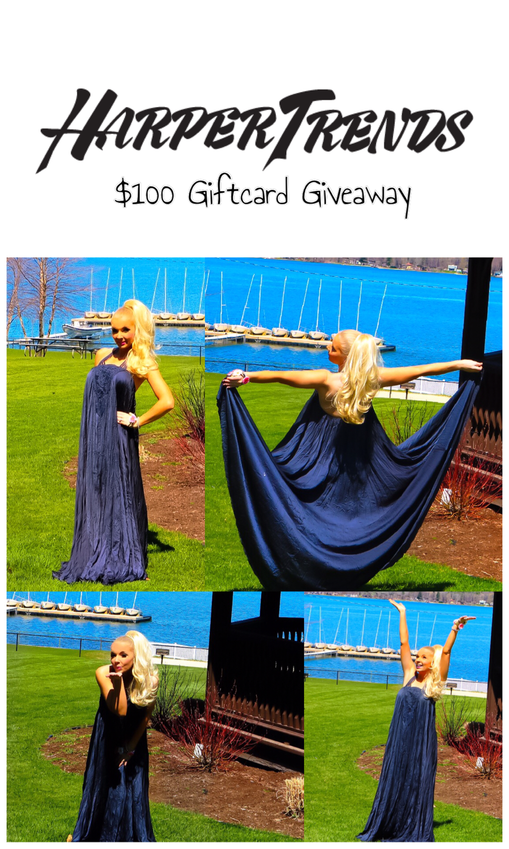 HARPER TRENDS GRECIAN GODDESS MAXI DRESS $100 GIFTCARD GIVEAWAY