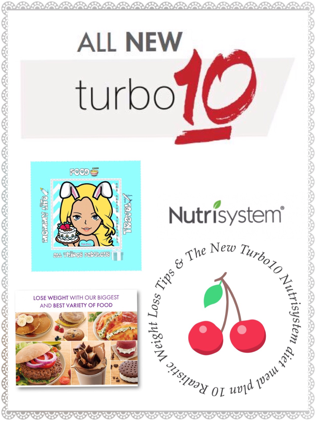 10 Realistic Weight Loss Tips & The New Turbo10 Nutrisystem diet meal plan