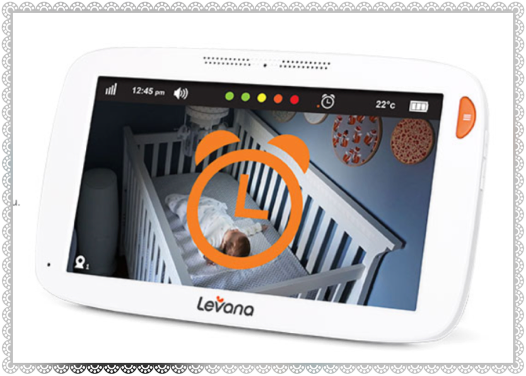 "Levana Willow™ 5"" HD Touchscreen PTZ Video Baby Monitor"