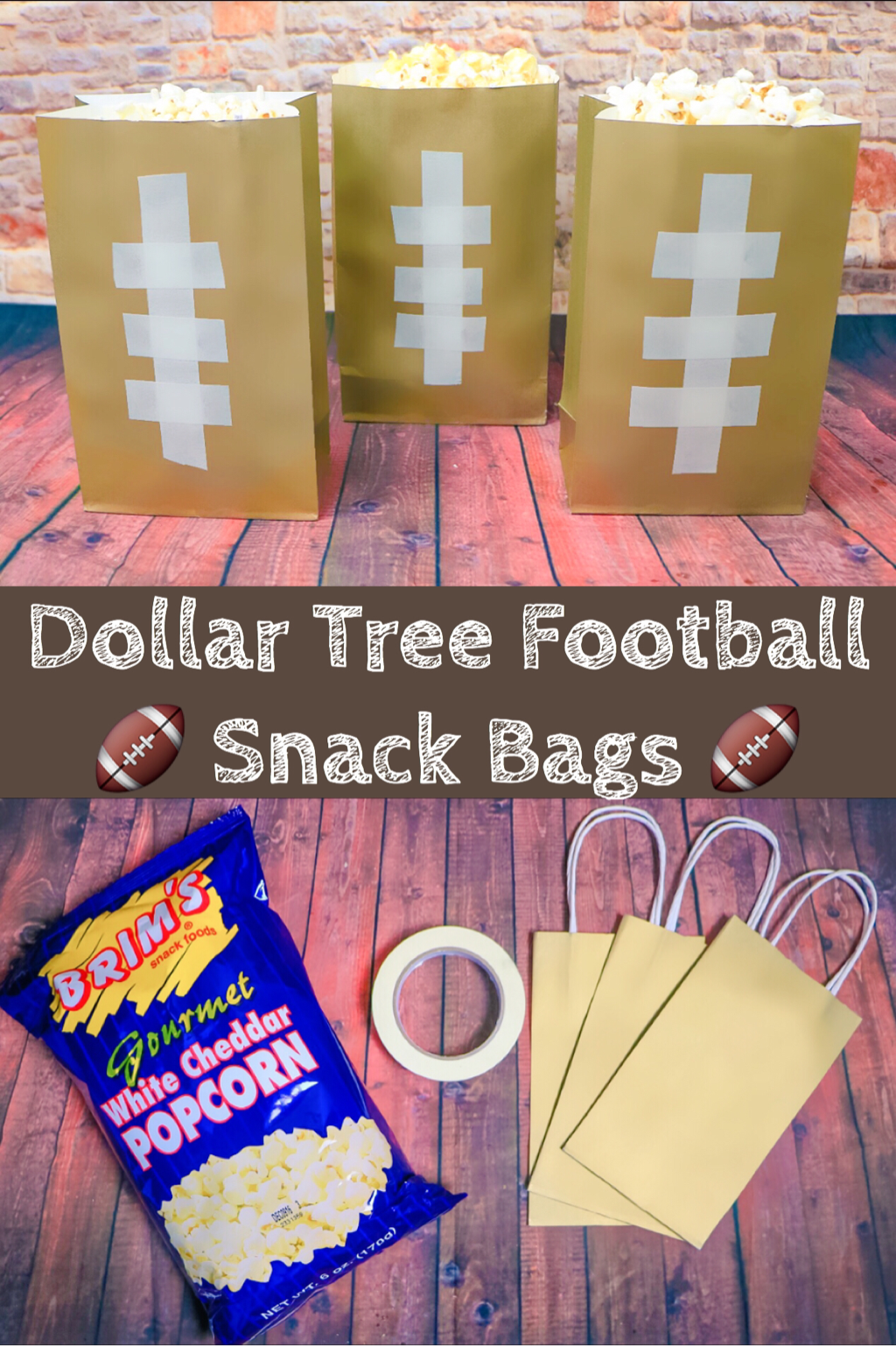 Dollar tree football treat bags the trophy wifestyle