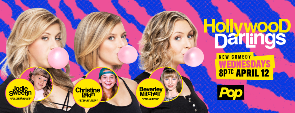 HOLLYWOOD DARLINGS FEATURING 90'S SITCOM STARS PREMIERS TONIGHT