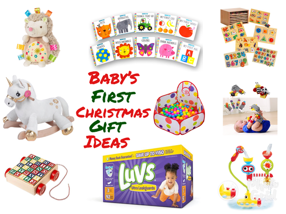 Baby's First Christmas Gift Ideas - Baby's First Christmas Gift Ideas - The Trophy WifeStyle