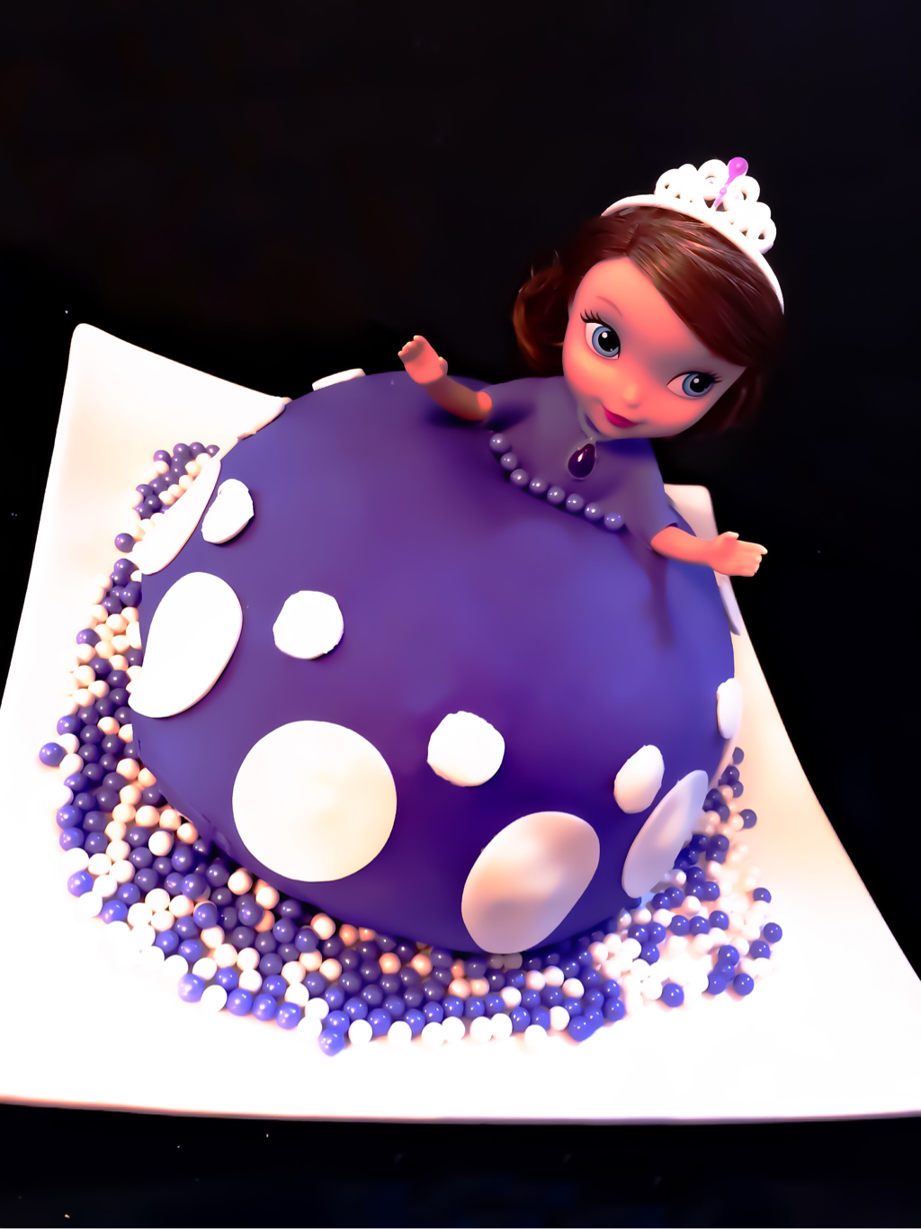 TRUMOO CHOCOLATE PRINCESS CAKE ~ Sofia the First