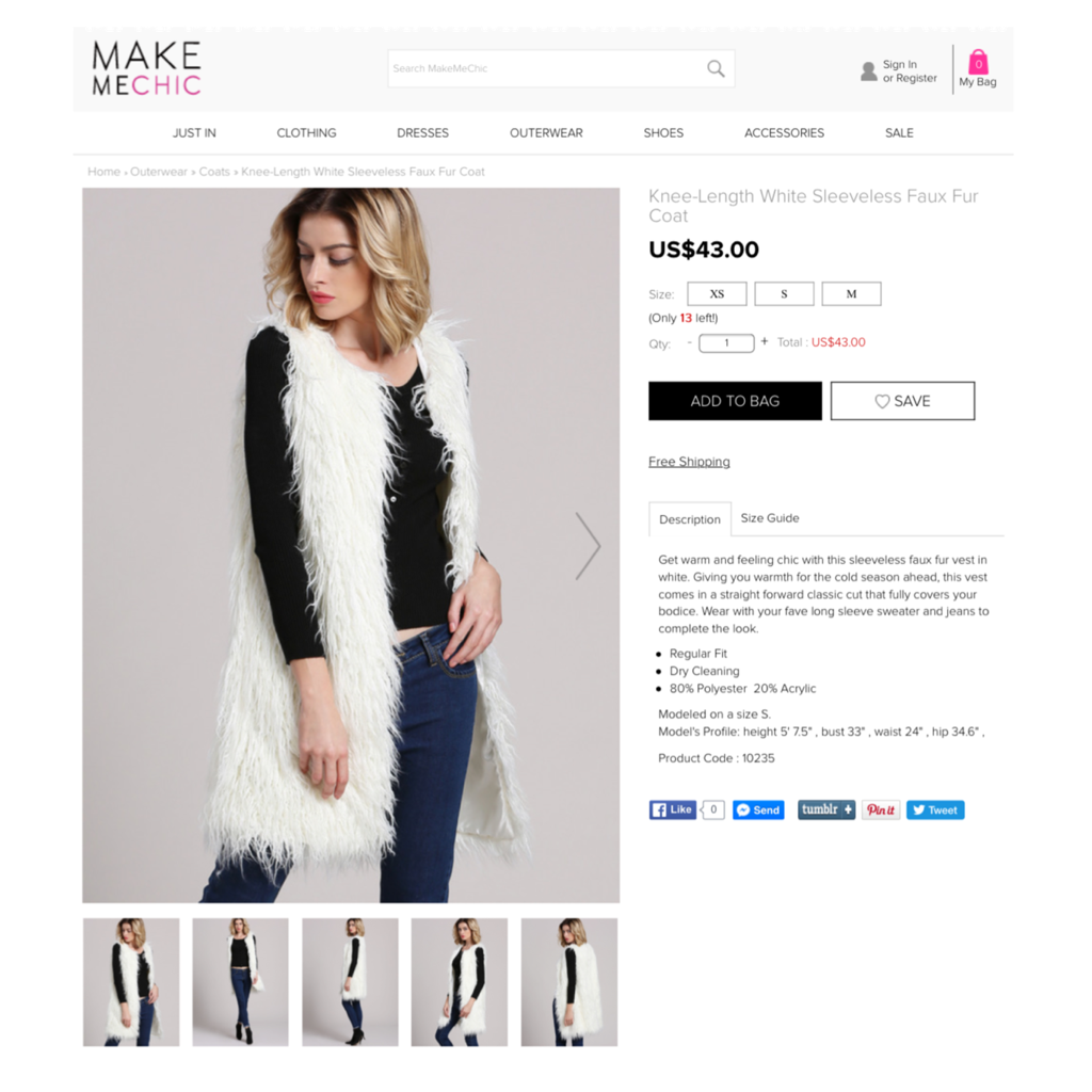 Make Me Chic Faux Fur