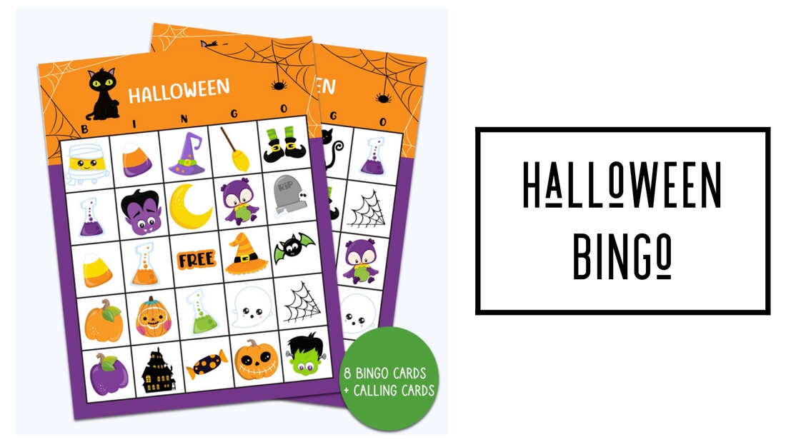Halloween Bingo Cards FREE DOWNLOAD