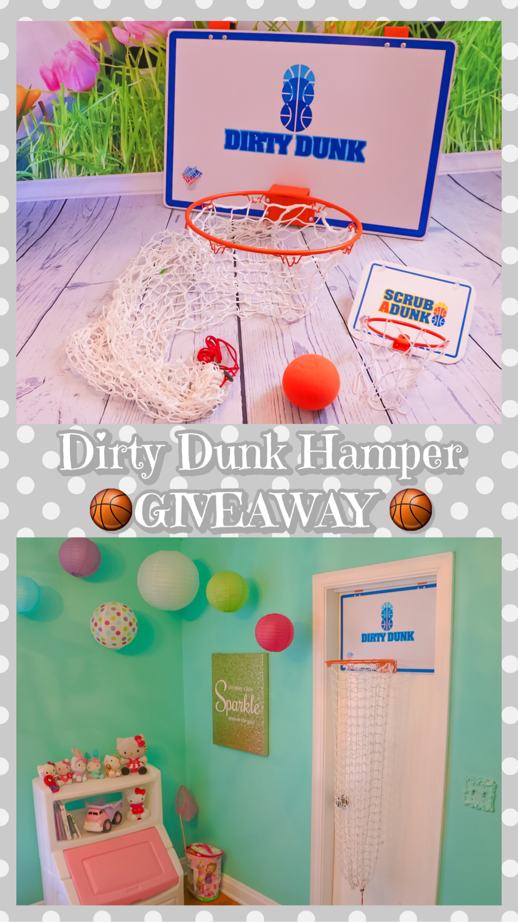 DIRTY DUNK HAMPER