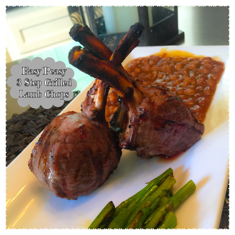 3 Step Grilled Lamb Chop Recipe