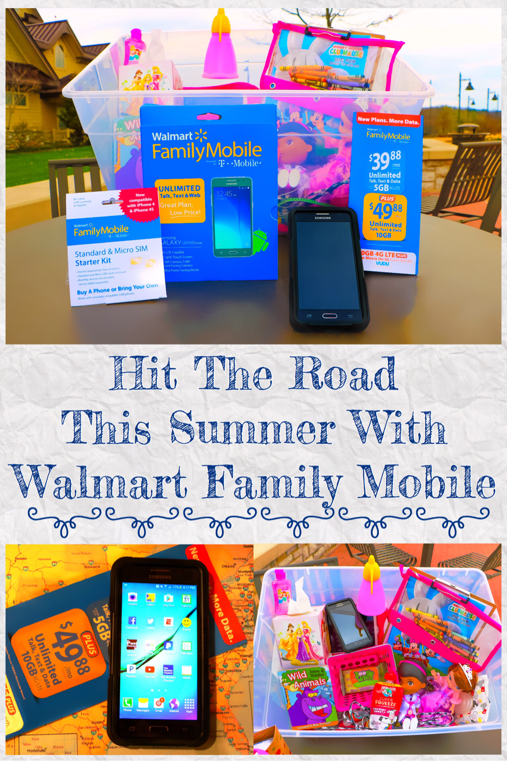 HIT THE ROADS THIS SUMMER WITH WALMART MOBILE