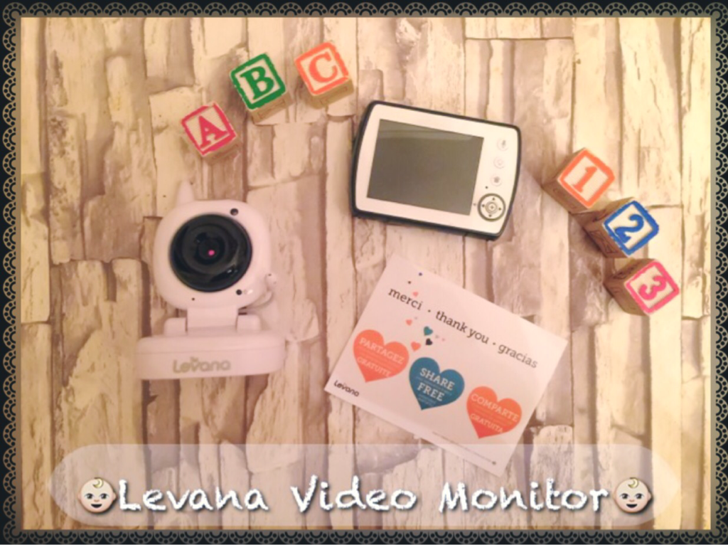 GET MORE DONE KNOWING YOUR BABY IS SAFE AND SOUND WITH THE LEVANA AYDEN MONITOR AT YOUR SIDE. Find out why I choose to use this monitor system in my daughters room!