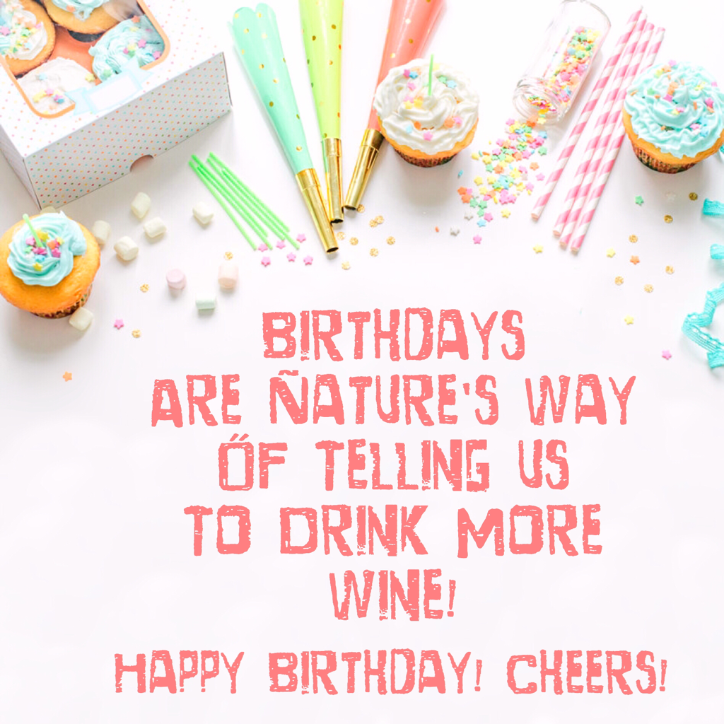 BIRTHDAY WINE LABEL PRINTABLE