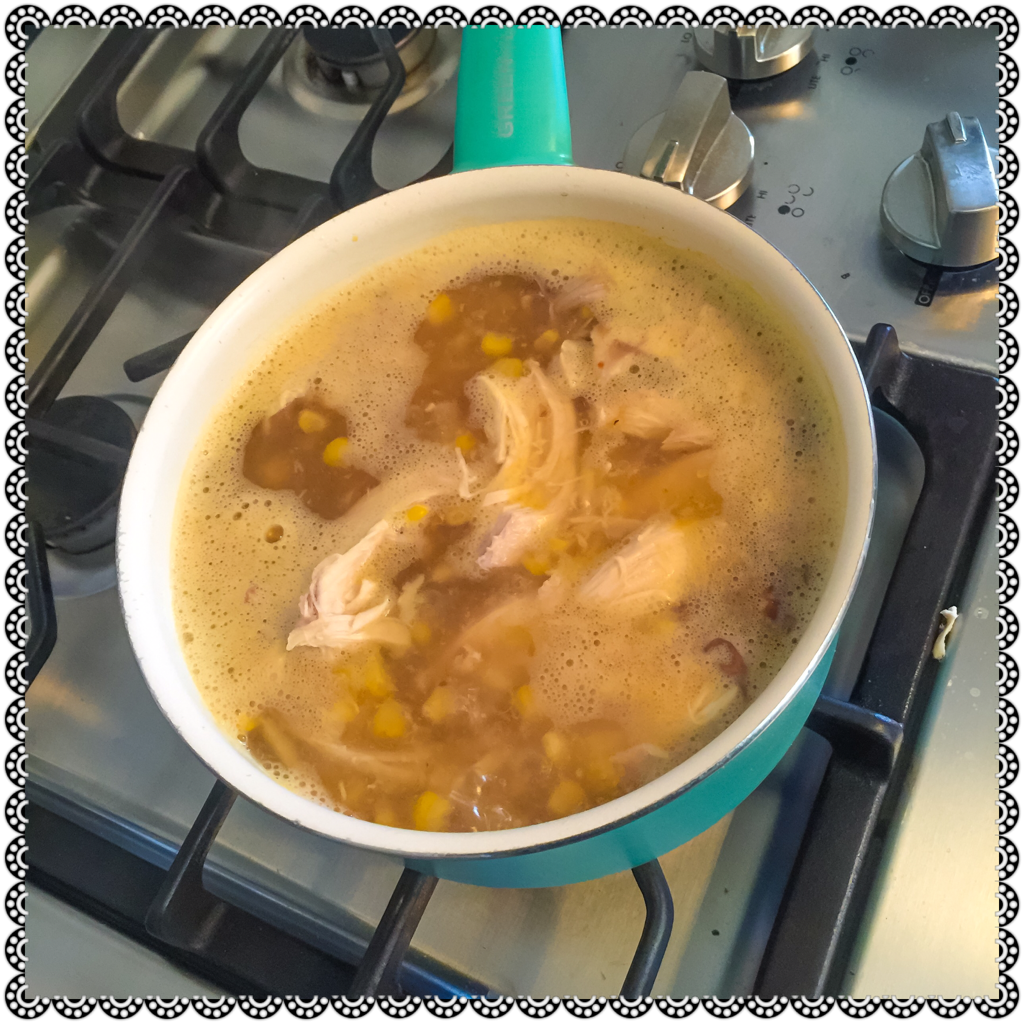 ALMOST HOMEMADE ROTISSERIE CHICKEN SOUP