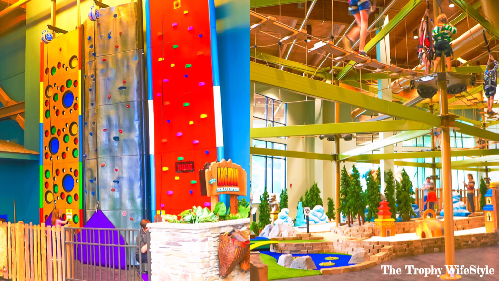 CAMELBACK LODGE ~ Aquatopia Indoor Water Park ~ The Poconos