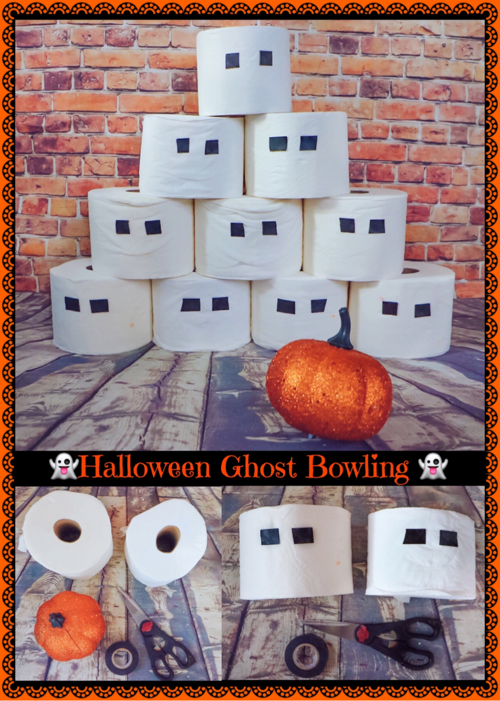 HALLOWEEN GHOST PUMPKIN BOWLING ~ LUVS COUPON OFFER #SharetheLuv #ad