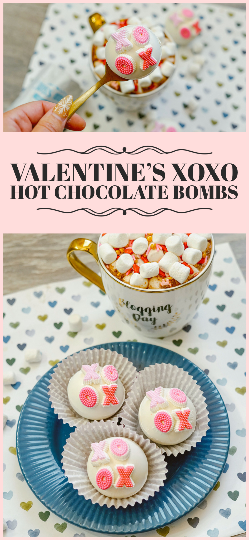 Valentine's XoXo Hot Chocolate Bombs