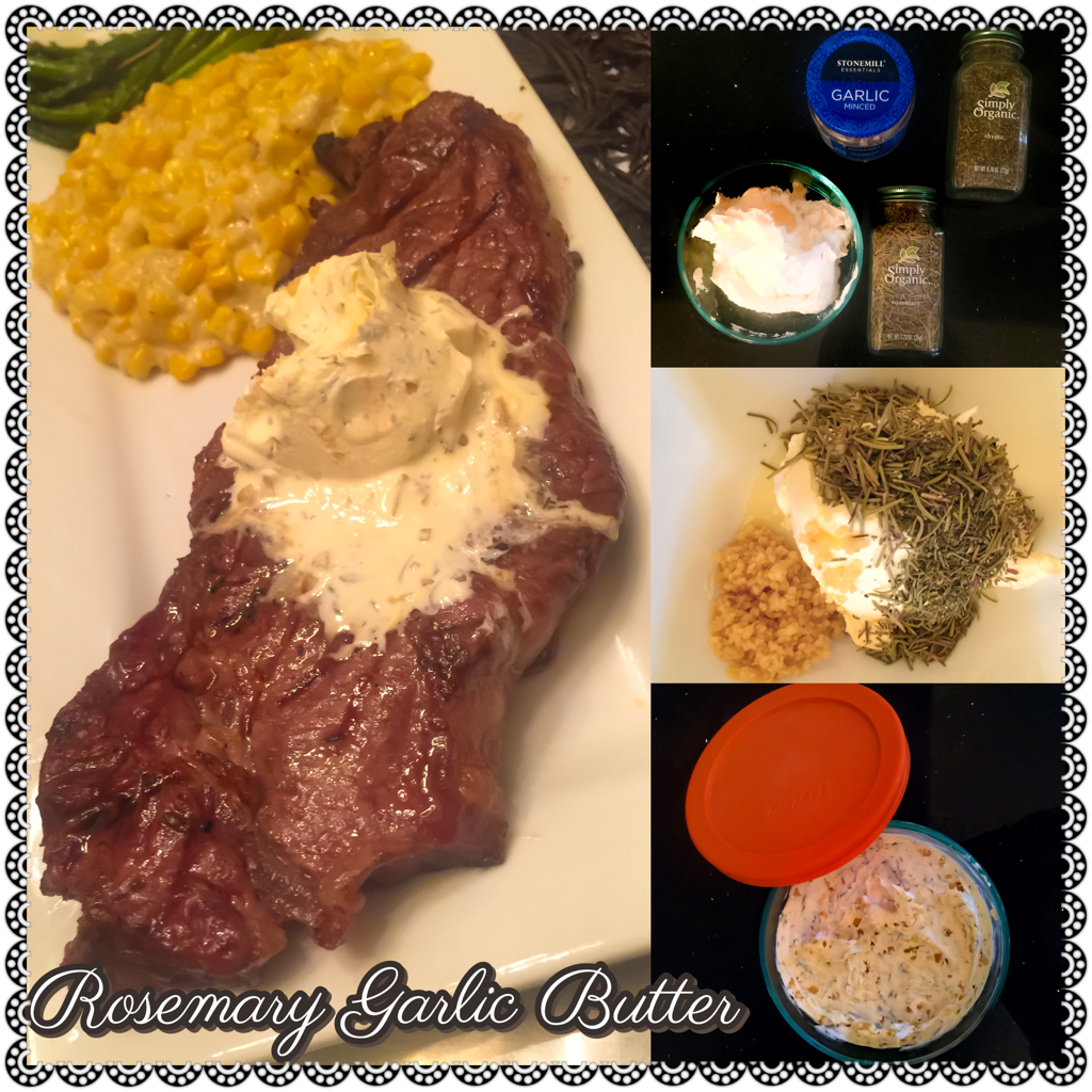 Rosemary Garlic Butter