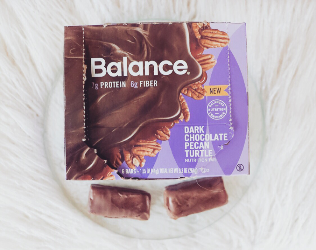 SNACK SMARTER WITH BALANCE BAR