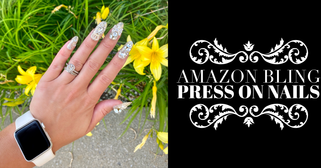 Amazon Bling Press On Nails