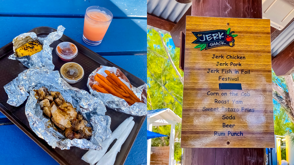 Beaches Resort The Jerk Shack Menu