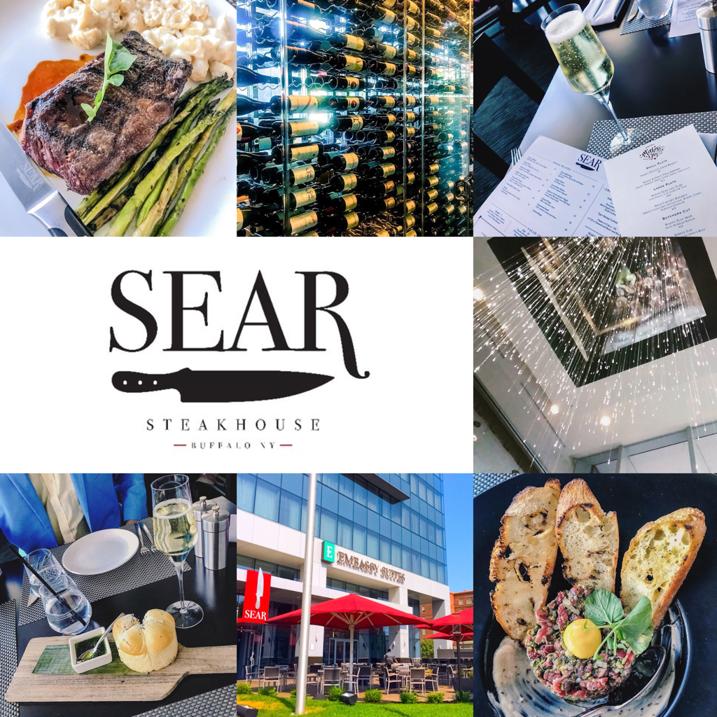 SEAR Steakhouse ~ Buffalo, NY Review
