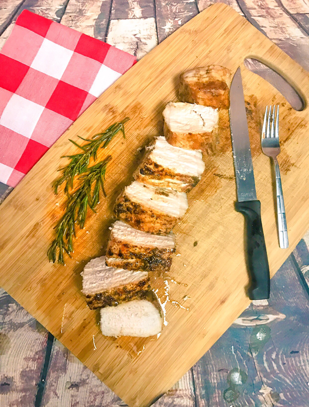 DINNER RECIPE IDEAS ~ BALSAMIC PORK TENDERLOIN #pmedia #seasonofpork #ad