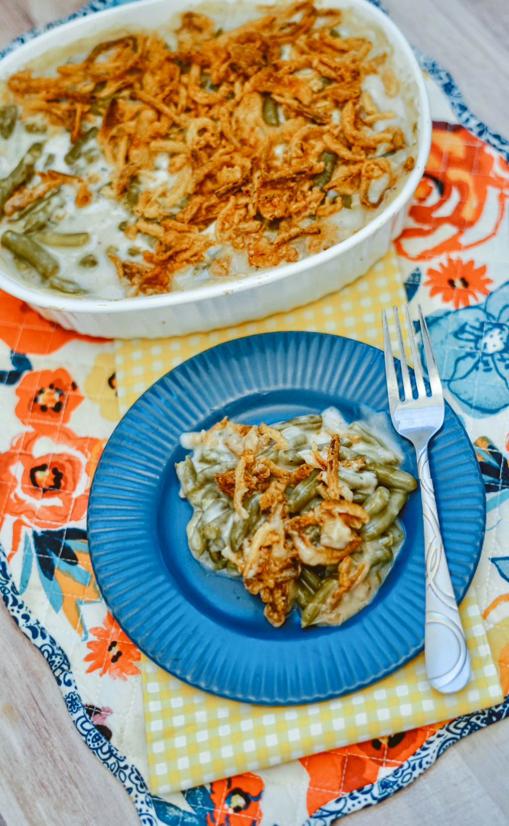 Simple Green Bean Casserole