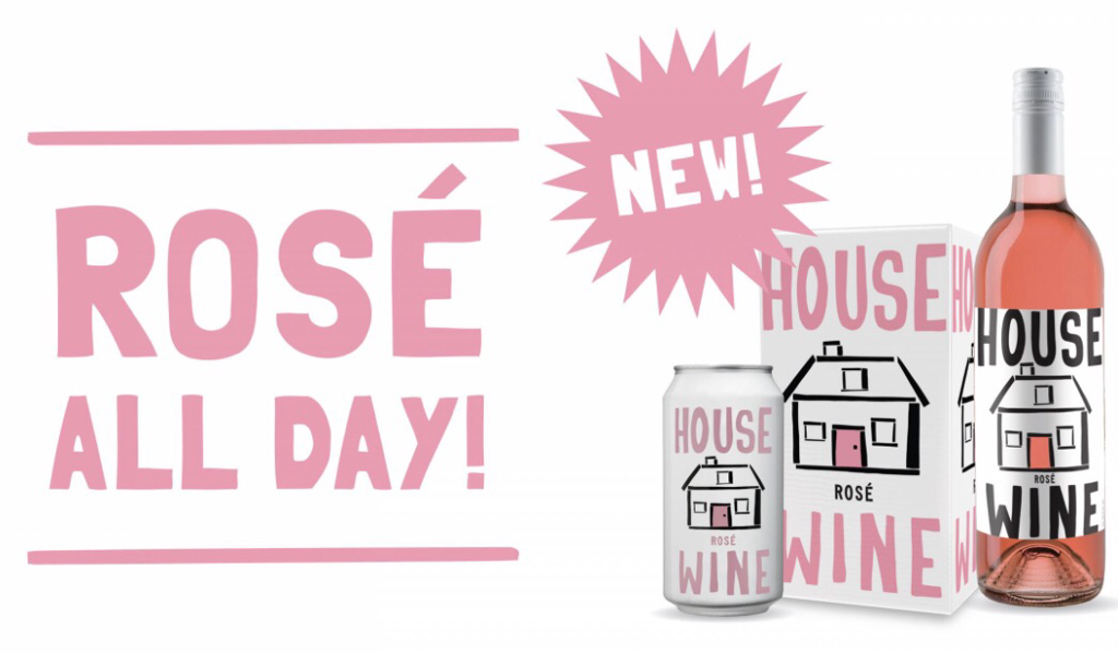 House Wine Canned Rosé REVIEW
