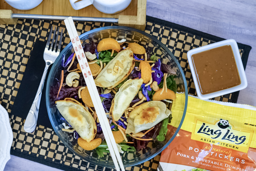 Chinese New Year Potsticker Salad
