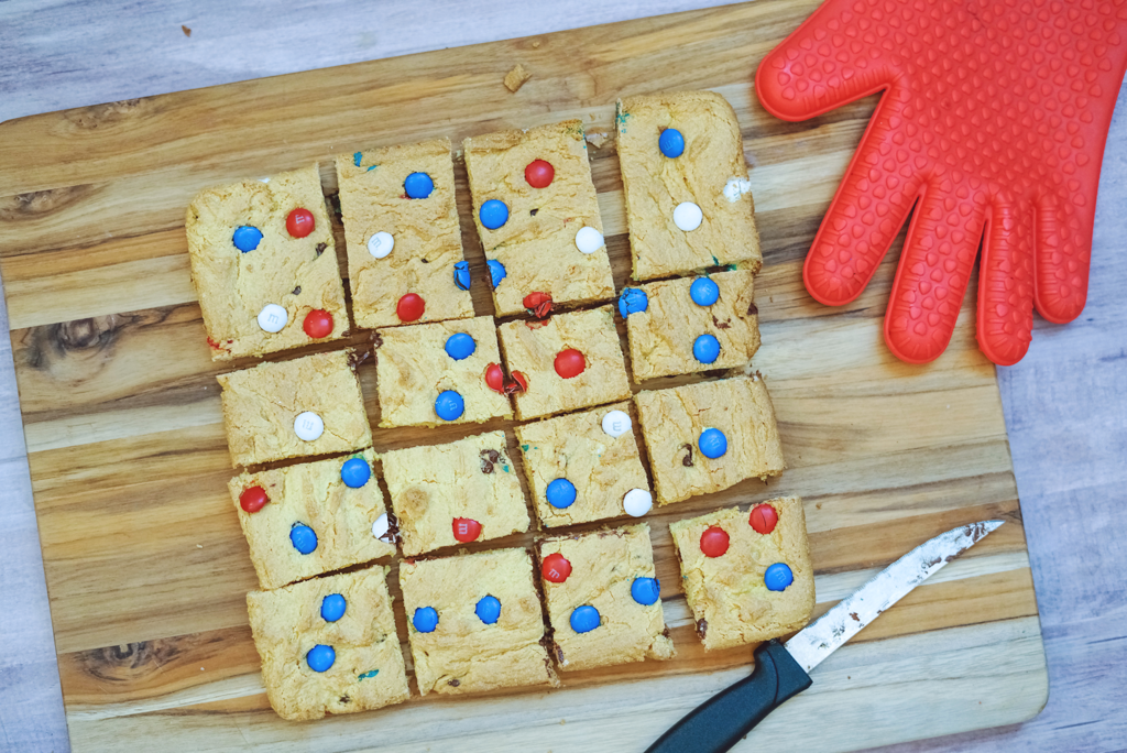 Patriotic Cookie Bars