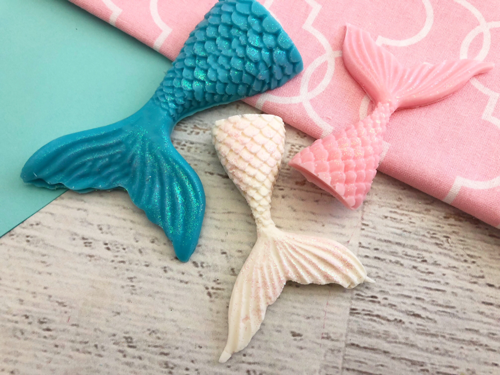 Chocolate D.I.Y Mermaid Tails