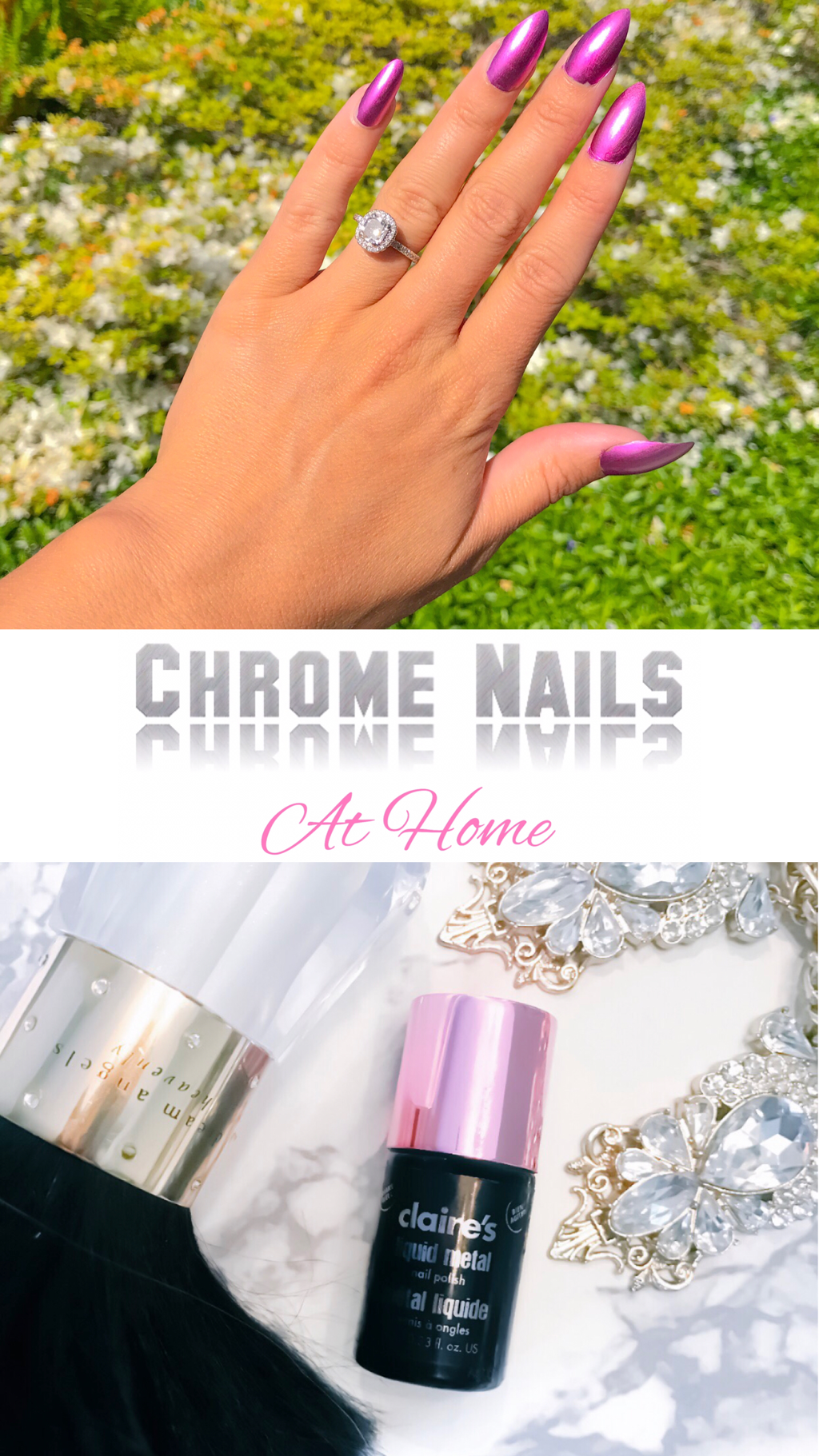 Chrome Nails At Home