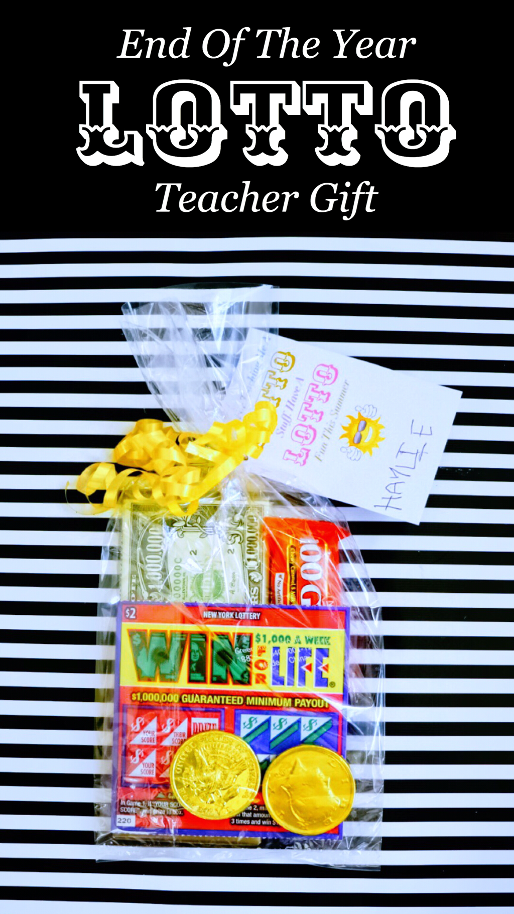 End Of The Year LOTTO Teacher Gift