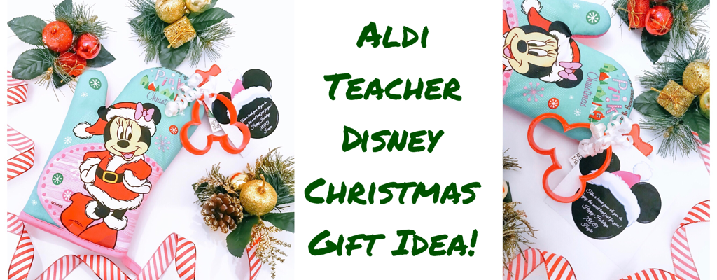 Aldi Teacher Disney Christmas Gift Idea