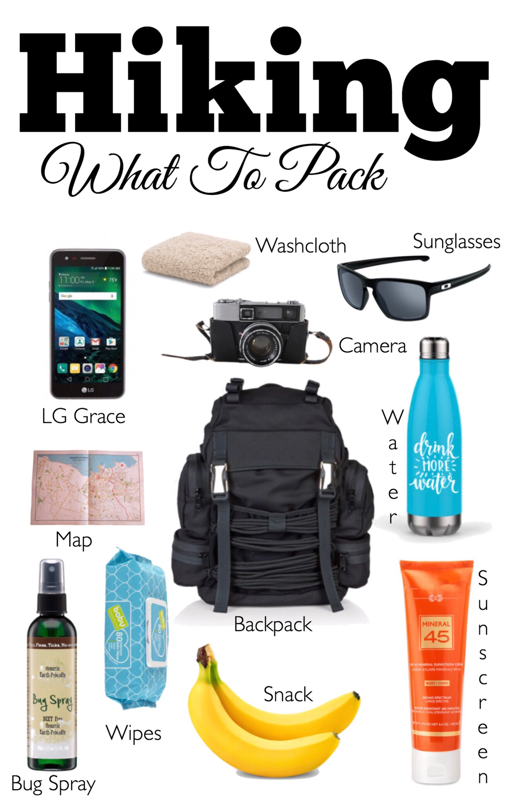 Hiking ~ What To Pack