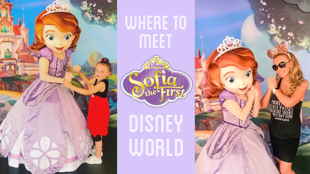 Where To Meet Sofia The First Disney World
