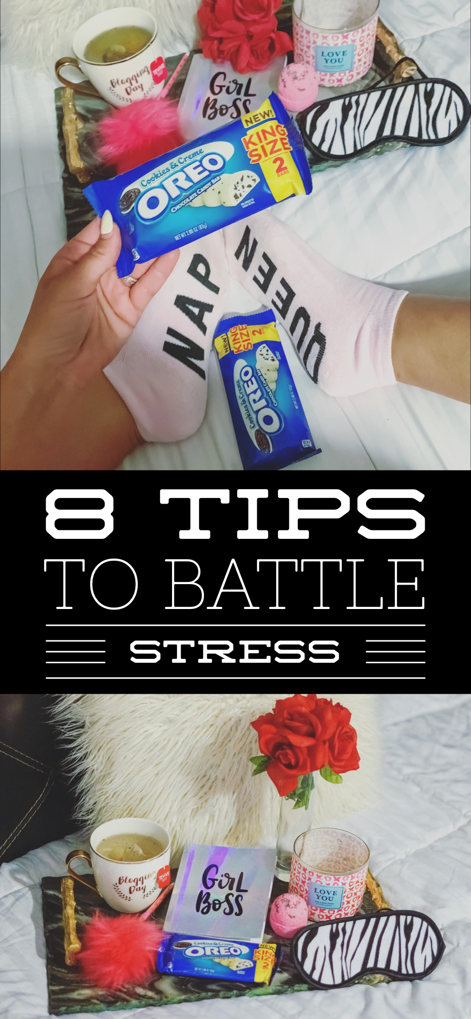 8 Tips To Battle Stress