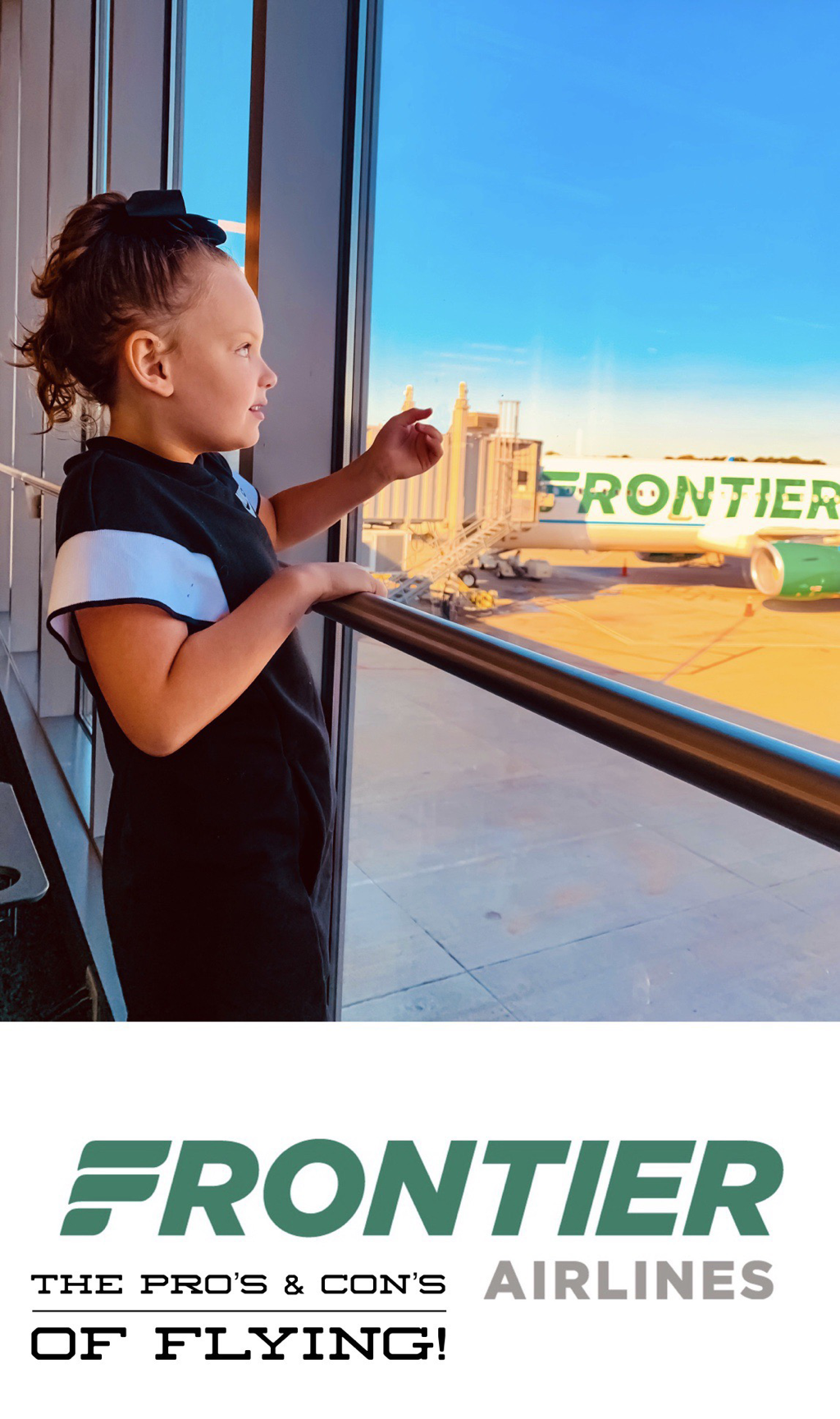 Frontier Airlines ~ The Pro's & Con's Of Flying