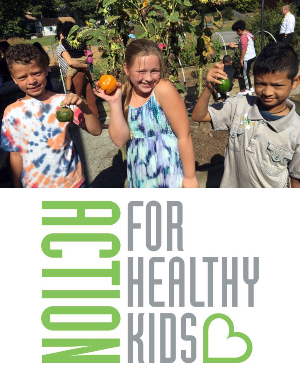 Help kids eat their veggies and succeed in school with a school grant from Action for Healthy Kids