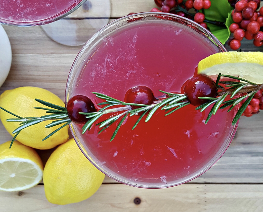 Cranberry Lemon Drop