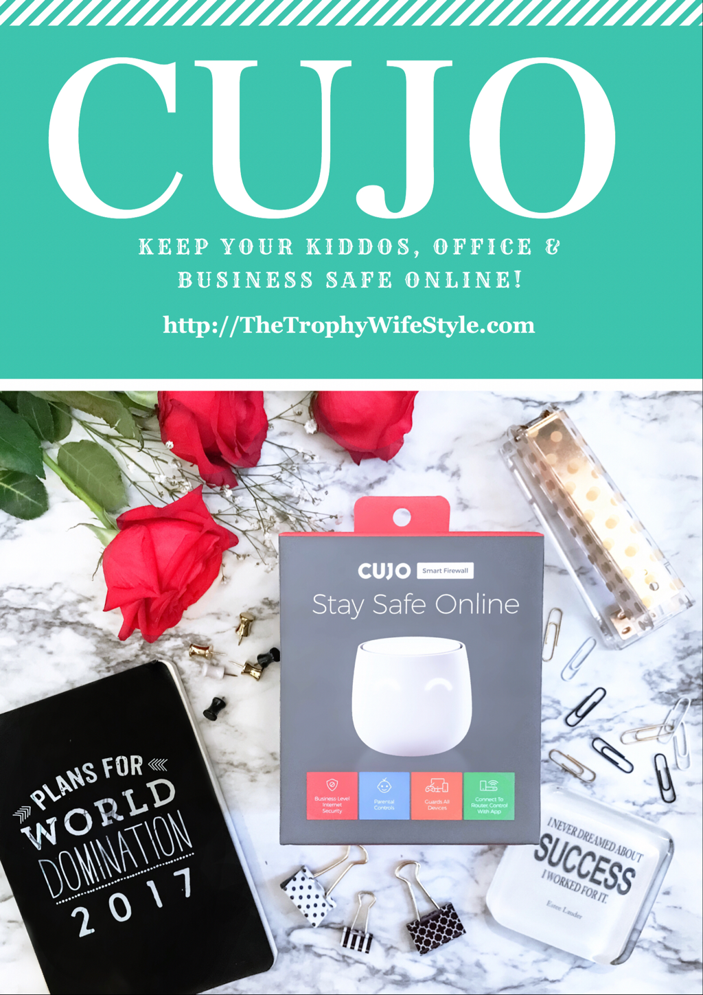CUJO ~ Keep Your Kiddos, Office & Business Safe Online