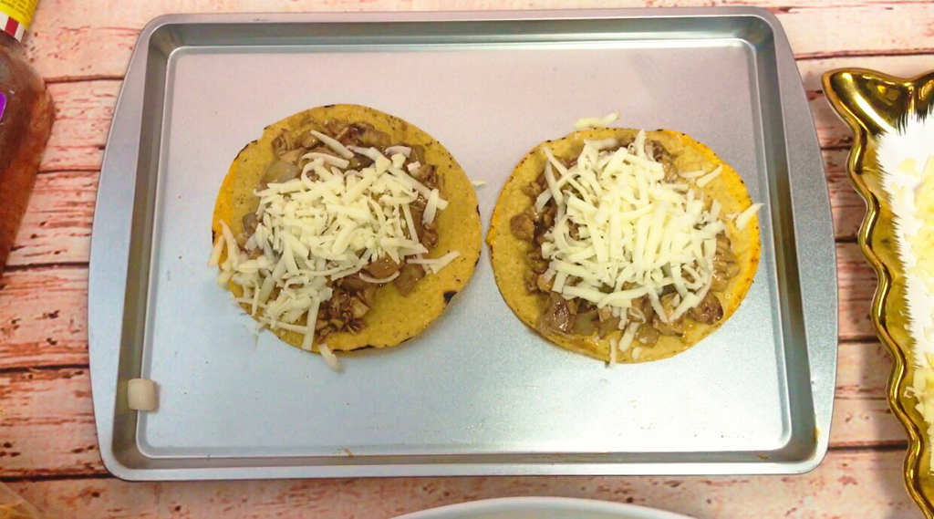 BBQ CHICKEN TOSTADAS