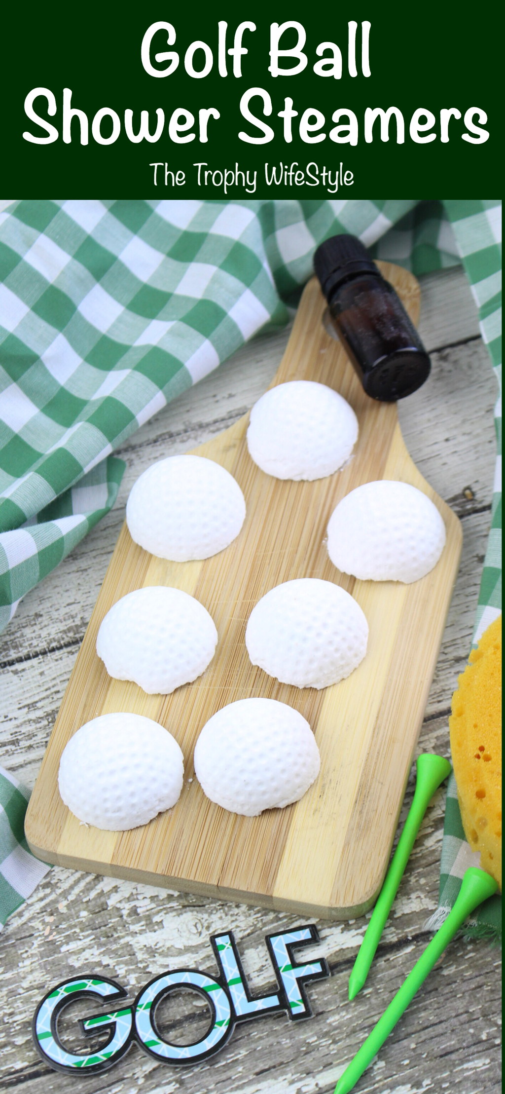 Golf Ball Shower Steamers