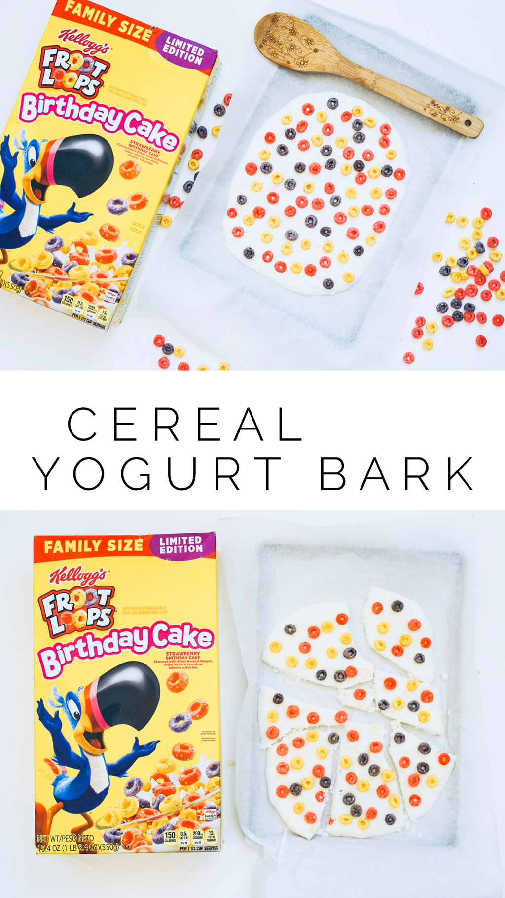 Cereal Yogurt Bark