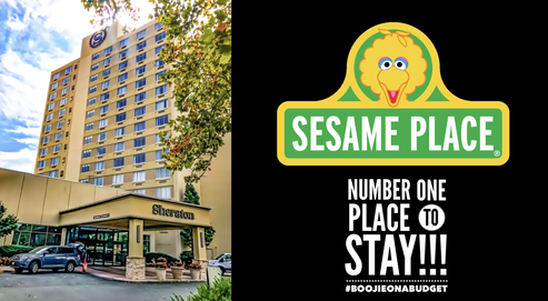 Sesame Place - Number One Place To Stay!