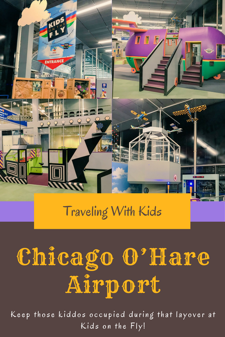 Kids on the Fly ~ Chicago O'Hare