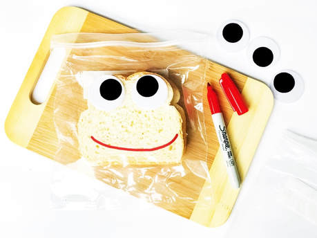 Googly Eye Sandwich Bags