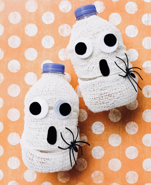 D.I.Y Mummy Water Bottles